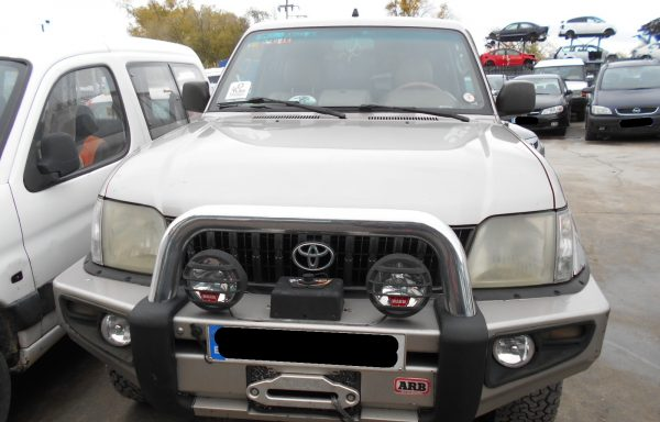 SE VENDE TOYOTA LAND CRUISER 3.0 160CV